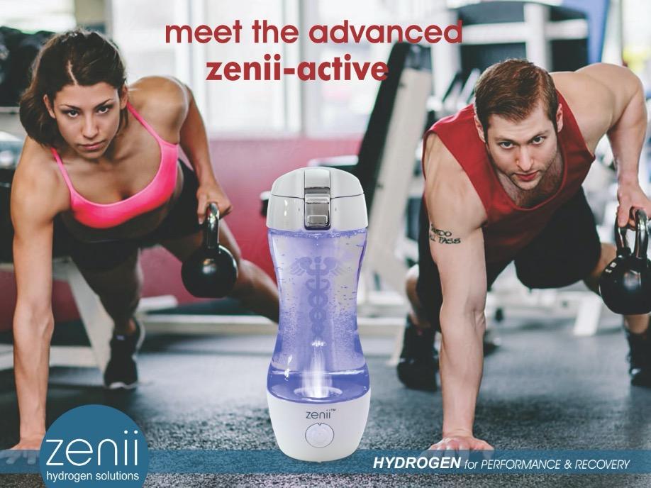 Hydrogen Water Zenii Active