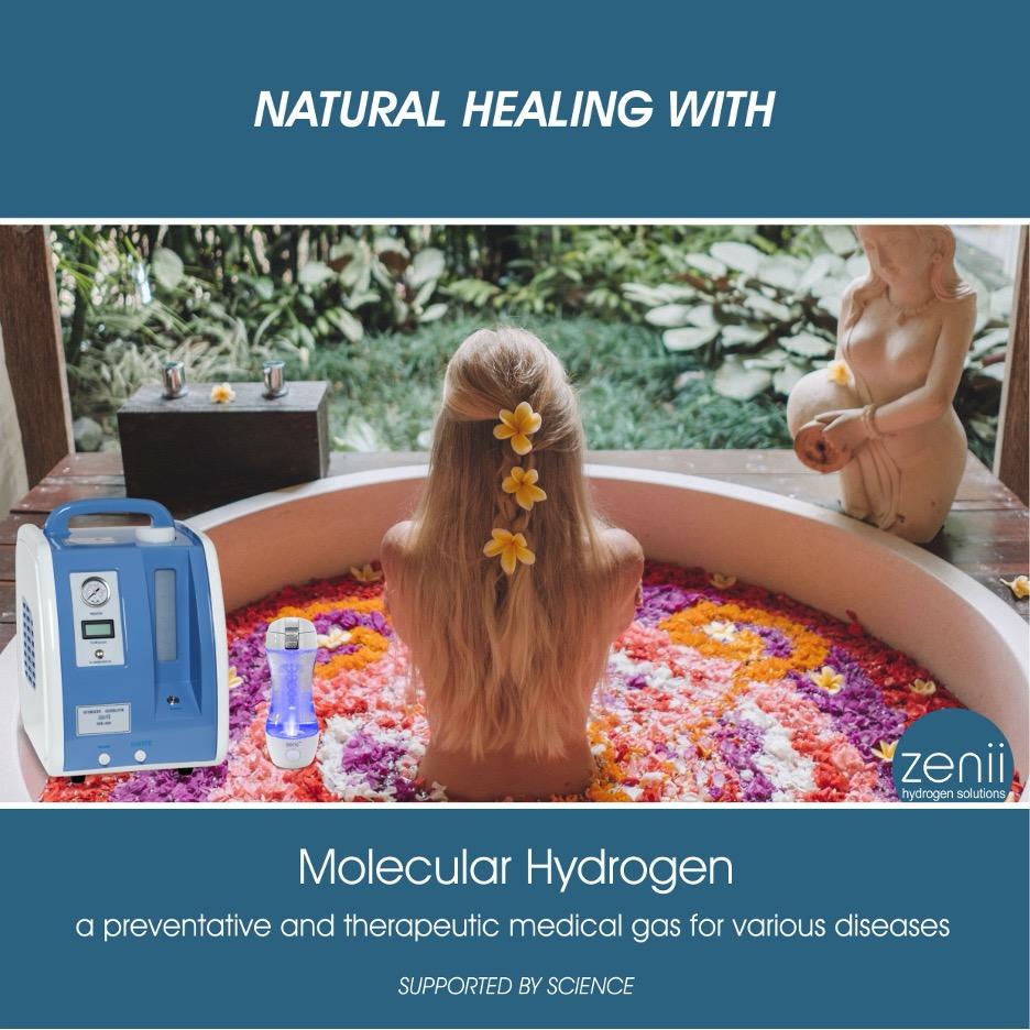 NATURAL HEALING WITH MOLECULAR HYDROGEN